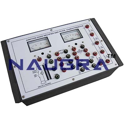 Junction Diode Rectifier Trainer for Vocational Training and Didactic Labs