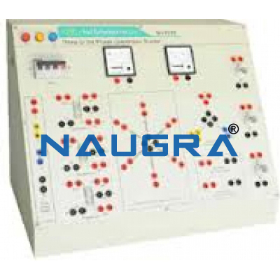 Three to Six Phase Conversion Trainer for Electrical Engineering Teaching Labs