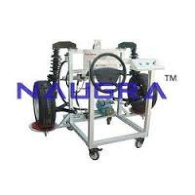 Power steering system (cut model)