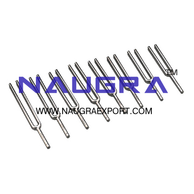 Tuning Forks Set of 8 for Physics Lab