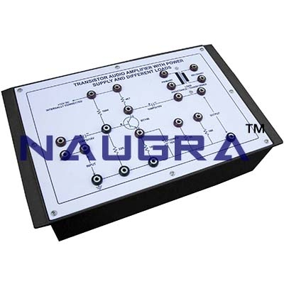 Audio Freuency Sine Wave Generator Trainer for Vocational Training and Didactic Labs